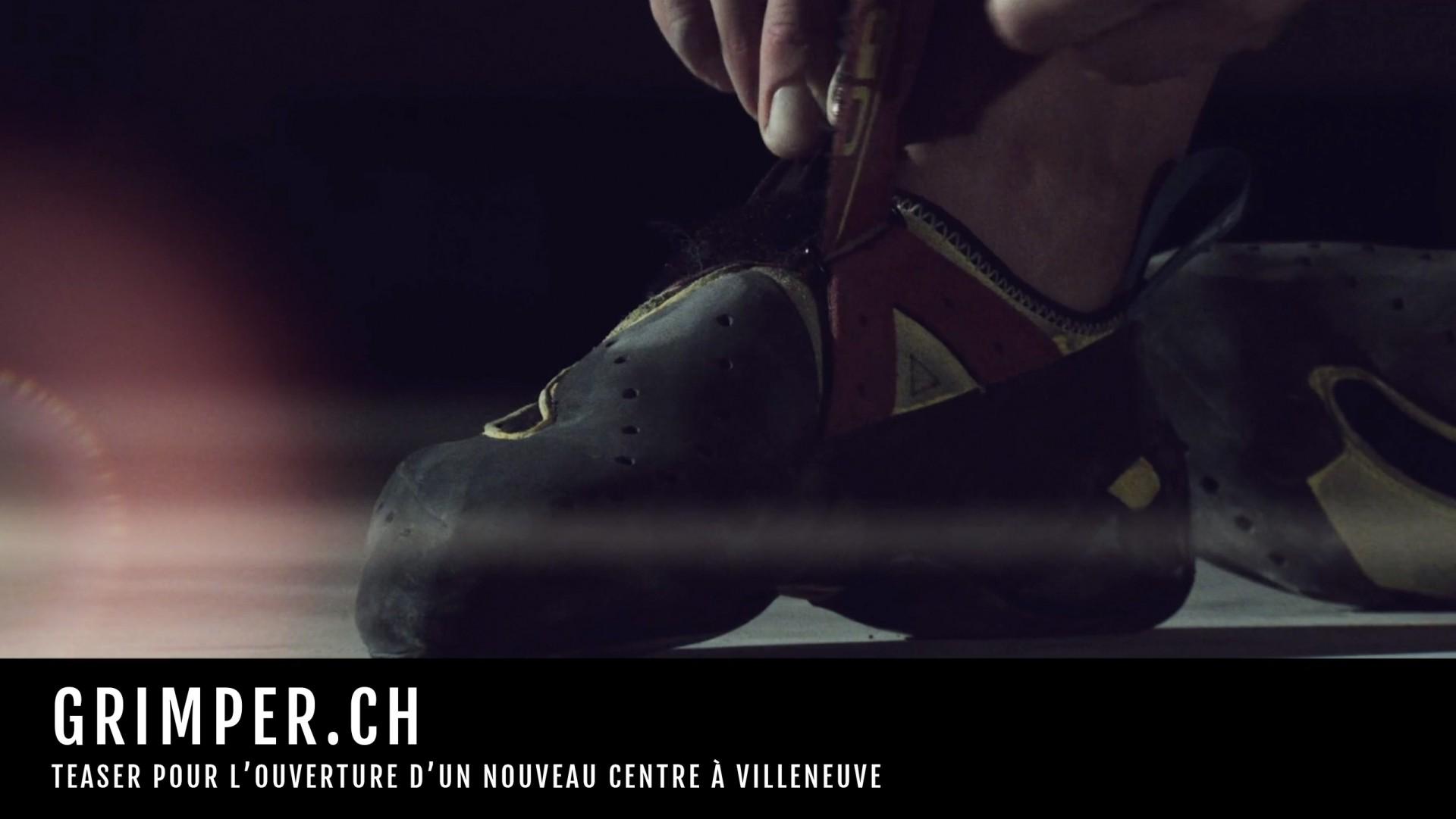 Grimper.ch / ouverture nouveau centre de Villeneuve