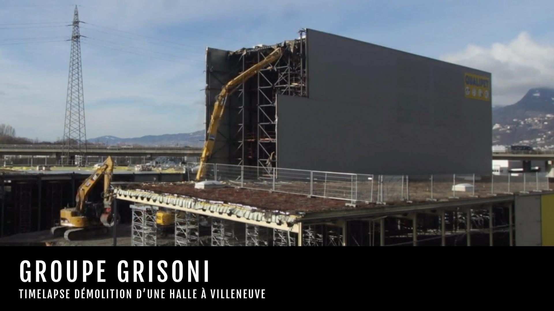 Grisoni VT Villeneuve - Démolition Silo